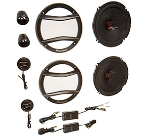 best pioneer tsa1606c a series component speakers for car