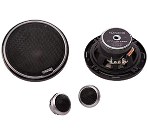 best kenwood kfc p509Ps performance series component speakers for car